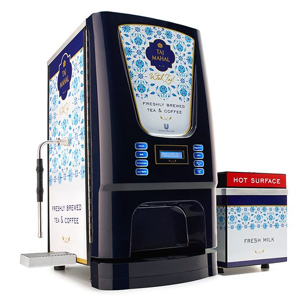 Freshly Brewed Tea & Coffee Vending Machine
